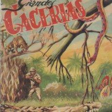 Collezionismo Álbum: ALBUM DE CROMOS- GRANDES CACERIAS-EXCLUSIVAS FERMA-COMPLETO. Lote 223493555