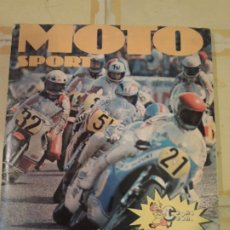 Coleccionismo Álbum: ALBUM DE CROMOS COMPLETO MOTO SPORT - PANINI CLUB CROMOCROM - 1980. Lote 223505181