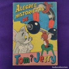 Coleccionismo Álbum: ALBUM DE CROMOS COMPLETO. ALEGRES HISTORIETAS DE TOM Y JERRY. FHER. 1957. CON 200 CROMOS.. Lote 223594552
