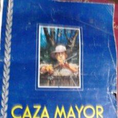 Collezionismo Álbum: ALBUM INCOMPLETO DE CAZA MAYOR DE CHOCOLATES NOGUEROLES PUBLICIDAD. Lote 223849535