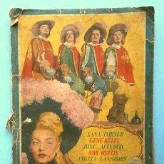 Coleccionismo Álbum: LOS TRES MOSQUETEROS (1952) ALBUM COMPLETO - ED. BRUGUERA - DEL FILM USA DE GENE KELLY Y LANA TURNER. Lote 223999737
