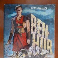 Coleccionismo Álbum: BEN HUR ALBUM DE CROMOS COMPLETO PERFECTO ESTADO COMO NUEVO. Lote 224020020
