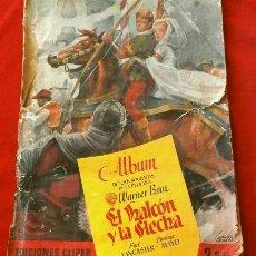 Coleccionismo Álbum: EL HALCON Y LA FLECHA (1951) ALBUM COMPLETO - ED. CLIPER -DEL FILM USA BURT LANCASTER, VIRGINIA MAYO. Lote 224079855
