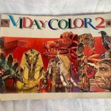 Collectionnisme Album: VIDA Y COLOR 2. Lote 224152132