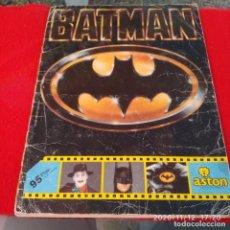 Coleccionismo Álbum: ALBUM COMPLETO BATMAN, 162 CROMOS, VER FOTOS. Lote 224342802