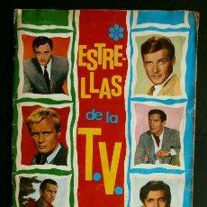 Coleccionismo Álbum: ESTRELLAS DE LA T.V. (1967) ALBUM COMPLETO (BUEN ESTADO) ED. ESTE -ESTRELLAS DE LA TV T V TELEVISION. Lote 224389097