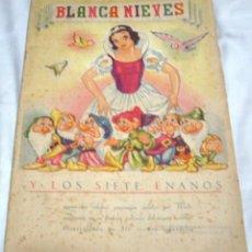 Coleccionismo Álbum: BLANCA NIEVES Y LOS 7 ENANOS COMPLETO 216 CROMOS 1941 BUEN ESTADO- IMPORTANTE LEER Y VER FOTOS. Lote 224514068