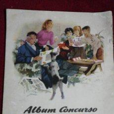 Coleccionismo Álbum: ALBUM CONCURSO CHOCOLATES NESTLÉ. Lote 224763943