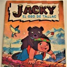 Coleccionismo Álbum: KACKY, EL OSO DE TALLAC - ALBUM COMPLETO - BUEN ESTADO - DANONE. Lote 226038035