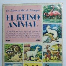 Coleccionismo Álbum: EL REINO ANIMAL N°48 * NOVARO * AÑO 1971 - ALBUM COMPLETO Y EN NORMAL ESTADO. Lote 226819000