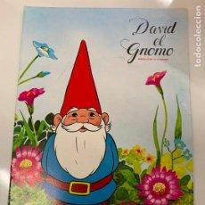Collezionismo Álbum: DAVID EL GNOMO, DANNONE - ALBUM DE CROMOS COMPLETO. TODO FOTOGRAFIADO. EN EXCELENTE ESTADO. Lote 226879525