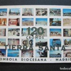 Collezionismo Álbum: 120 CROMOS TIERRA SANTA-TOMBOLA DIOCESANA-ALBUM COMPLETO-VER FOTOS-(K-1153). Lote 227082805