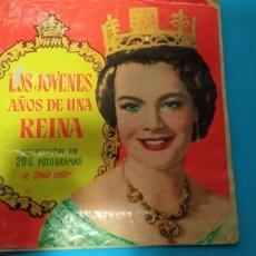 Coleccionismo Álbum: ALBUM SISSI LOS JOVENES AÑOS DE UNA REINA EDITORIAL BRUGUERA AÑOS 50 OMPLETO. Lote 227087480