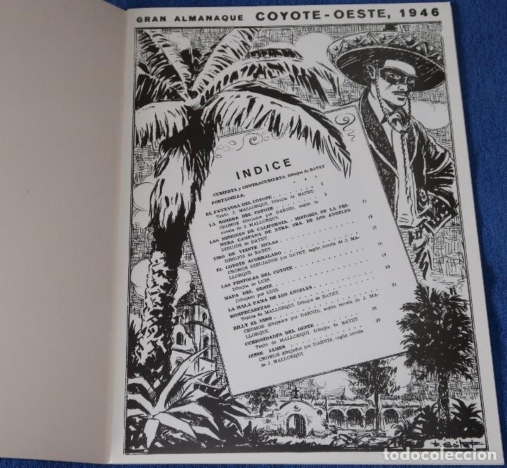Coleccionismo Álbum: Gran album almanaque Coyote - 1946 - Edición facsimil - ¡Impecable! - Foto 2 - 227596090