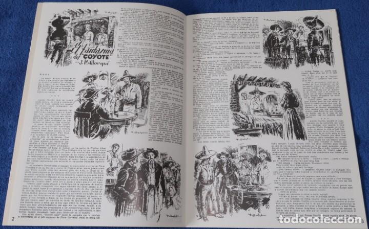 Coleccionismo Álbum: Gran album almanaque Coyote - 1946 - Edición facsimil - ¡Impecable! - Foto 3 - 227596090