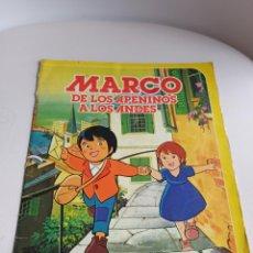 Coleccionismo Álbum: ÁLBUM DE MARCO DE LOS APENINOS A LOS ANDES. Lote 227662175