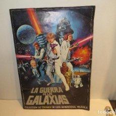 Collezionismo Álbum: ALBUM COMPLETO LA GUERRA DE LAS GALAXIAS PACOSA DOS MUY BUEN ESTADO,CUESTA ENCONTRAR ASI,BARATO. Lote 227740859