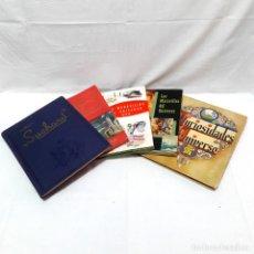 Collezionismo Álbum: 5 ÁLBUNES-NESTLÉ-SUCHARD-1530 CROMOS-AÑOS 30 Y 50-2 COMPLETOS-1 CASI-2 A MITAD-NUMERADO-NOTICIARIO. Lote 228736680