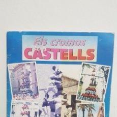 Coleccionismo Álbum: ÁLBUM DE CROMOS - ELS CROMOS DELS CASTELLS COMPLETO. Lote 228737600