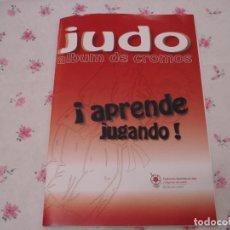 Collezionismo Álbum: JUDO APRENDE JUGANDO. Lote 194600156