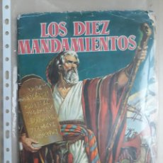 Collectionnisme Album: ALBUM COMPLETO LOS DIEZ MANDAMIENTOS BRUGUERA 1959. Lote 229021445