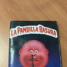 Collezionismo Álbum: LOTE RESERVADO.J**** ALBUM DE CROMOS LA PANDILLA BASURA AÑO 1989 J. MERCHANTE CROMOS CARTON COMPLETO. Lote 263130640
