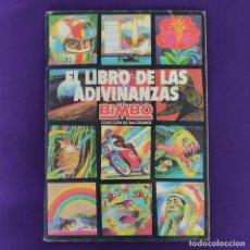 Coleccionismo Álbum: ALBUM COMPLETO. EL LIBRO DE LAS ADIVINANZAS. BIMBO. 1973/74. CON 266 CROMOS.. Lote 229190320