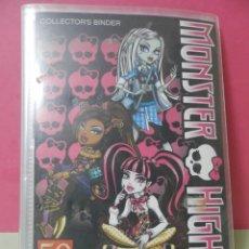 Coleccionismo Álbum: DOS ALBUNES DE MONSTER HIGH.. Lote 229350880