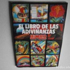 Collectionnisme Album: ALBUM EL LIBRO DE LAS ADIVINANZAS DE BIMBO COMPLETO. Lote 230807180