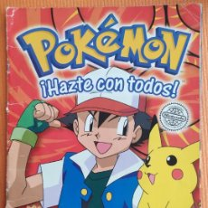 Coleccionismo Álbum: POKEMON HAZTE CON TODOS STICKER ALBUM. Lote 230967050