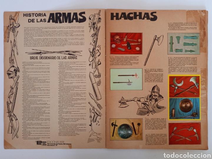 Coleccionismo Álbum: Album completo con sus 300 cromos Historia de las Armas ediciones Este años 70 - Foto 3 - 230993395