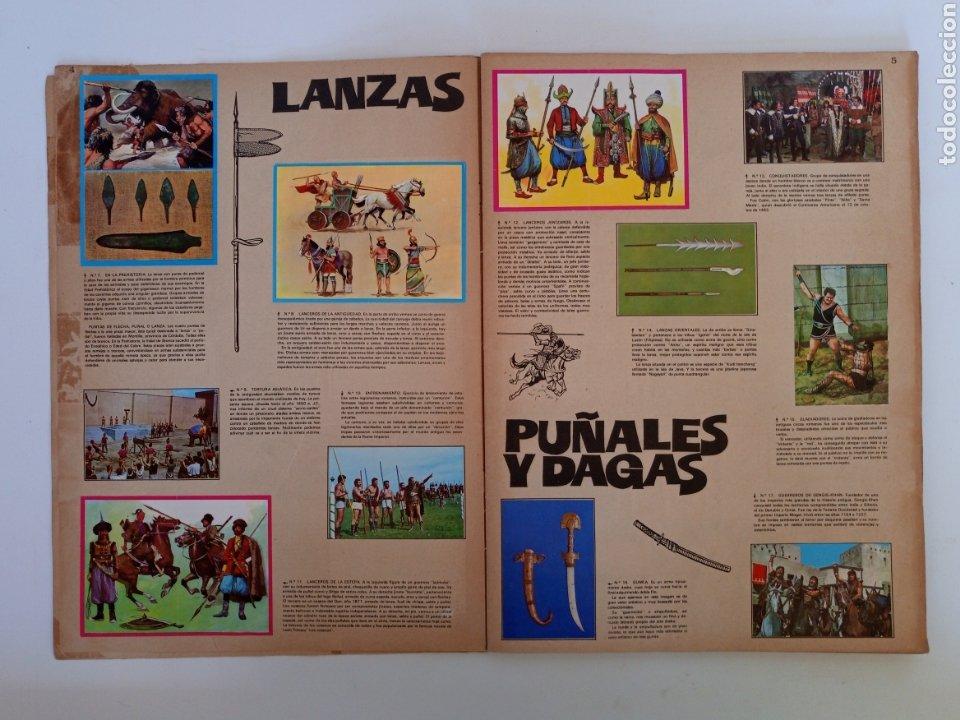 Coleccionismo Álbum: Album completo con sus 300 cromos Historia de las Armas ediciones Este años 70 - Foto 4 - 230993395