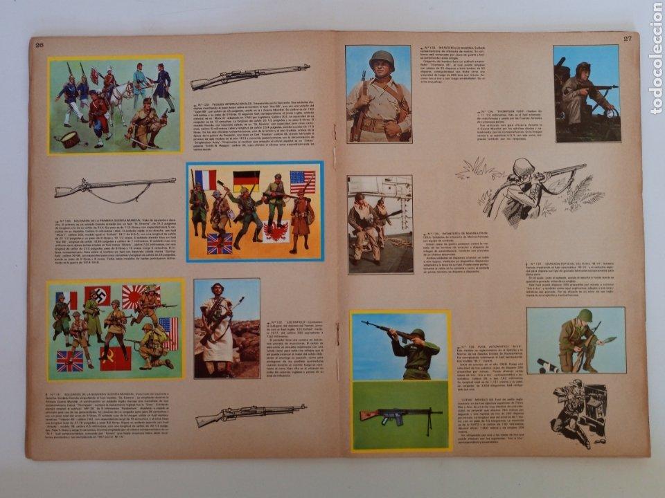 Coleccionismo Álbum: Album completo con sus 300 cromos Historia de las Armas ediciones Este años 70 - Foto 5 - 230993395