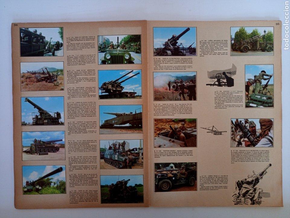 Coleccionismo Álbum: Album completo con sus 300 cromos Historia de las Armas ediciones Este años 70 - Foto 7 - 230993395