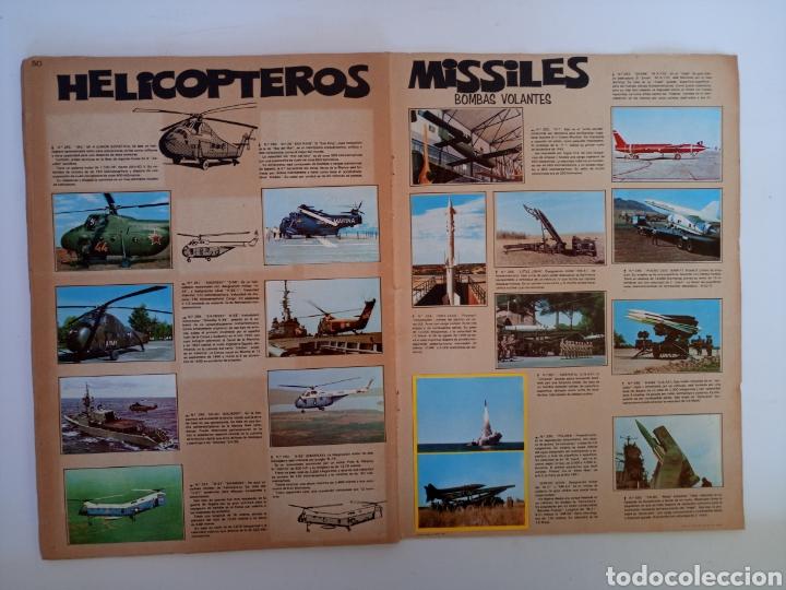 Coleccionismo Álbum: Album completo con sus 300 cromos Historia de las Armas ediciones Este años 70 - Foto 8 - 230993395