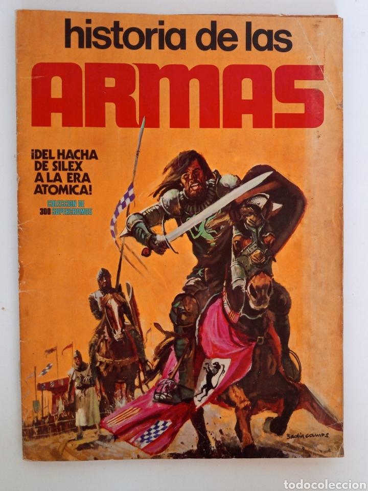 ALBUM COMPLETO CON SUS 300 CROMOS HISTORIA DE LAS ARMAS EDICIONES ESTE AÑOS 70 (Coleccionismo - Cromos y Álbumes - Álbumes Completos)