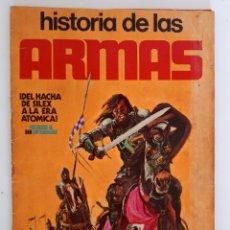 Coleccionismo Álbum: ALBUM COMPLETO CON SUS 300 CROMOS HISTORIA DE LAS ARMAS EDICIONES ESTE AÑOS 70. Lote 230993395