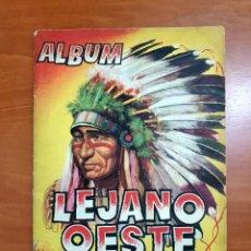 Coleccionismo Álbum: LEJANO OESTE, 288 CROMOS, ¡COMPLETO!, AÑO 1956, (EDICIONES GENERALES-REVISTAS PASEO). Lote 191428115