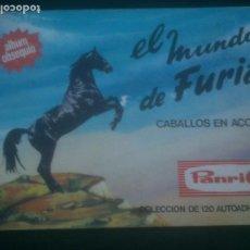 Coleccionismo Álbum: ALBUM CROMOS COMPLETO EL MUNDO DE FURIA CABALLOS EN ACCION PANRICO 1973 SOLDADOS EJERCITOS ARMY. Lote 231585500