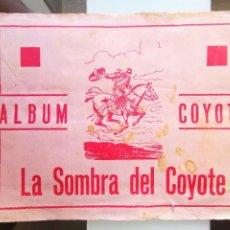 Coleccionismo Álbum: ÁLBUM COYOTE LA SOMBRA DEL COYOTE EDITORIAL CASULLERAS AÑOS 50 COMPLETO. Lote 232464600