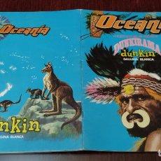 Coleccionismo Álbum: ALBUM DE CROMOS OCEANIA DUNKIRAMA (COMPLETO) (DUNKIN GALLINA BLANCA 1968). Lote 232496145