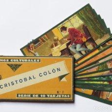 Coleccionismo Álbum: CROMOS CULTURALES BARSAL Nº 7 CRISTÓBAL COLÓN. COLECCIÓN COMPLETA. Lote 233378630