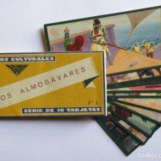 Coleccionismo Álbum: CROMOS CULTURALES BARSAL Nº 6 LOS ALMOGÁVARES. COLECCIÓN COMPLETA. Lote 233378995