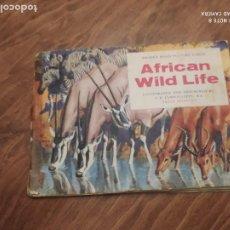 Collezionismo Álbum: JML ALBUM DE CROMOS AFRICAN WILD LIFE, VIDA SALVAJE EN AFRICA. EN INGLÉS. ALBUM COMPLETO. VER FOTOS. Lote 233722190