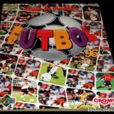 Coleccionismo Álbum: ALBUM DE FIGURITAS. CROMOS. FUTBOL. UPPER DECK. ARGENTINA. CROMY 1996. COMPLETO. DIFICIL ENCONTRAR.. Lote 234105885