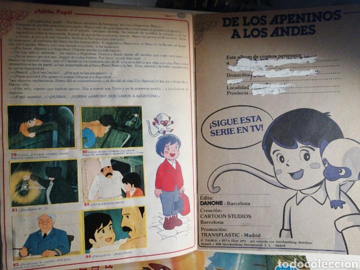 Coleccionismo Álbum: Marco De Los Apeninos a los Andes I y II, LOS DOS ALBUMES COMPLETOS DANONE - Foto 10 - 234857495