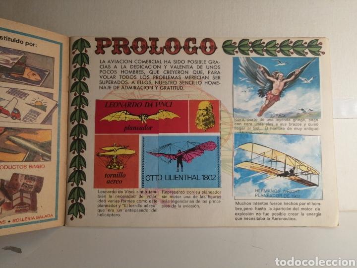 Coleccionismo Álbum: Album de cromos Completo VOLAR Y SABER BIMBO. Incluido el Bimborama completo - Foto 2 - 234893320