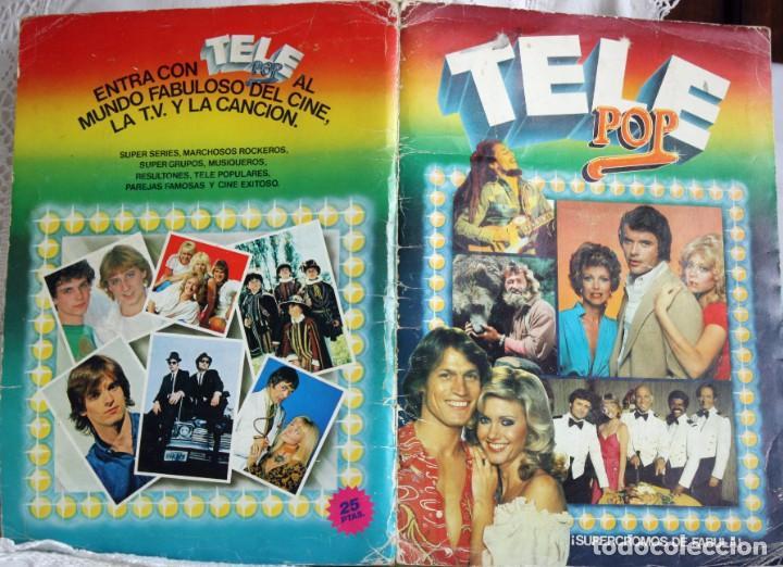 TELE POP - COMPLETO (Coleccionismo - Cromos y Álbumes - Álbumes Completos)