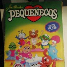 Coleccionismo Álbum: ALBUM DE CROMOS COMPLETO LOS PEQUEÑECOS. Lote 235201210