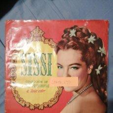 Coleccionismo Álbum: SISSI COMPLETO 200 FOTOGRAFÍAS TAN SOLO PEGADAS POR ARRIBA. Lote 235255010
